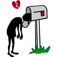Broken Heart, Head in Mail Box