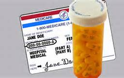 Medicare with Pill Bottle