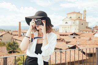 Fashion-person-woman-taking-photo
